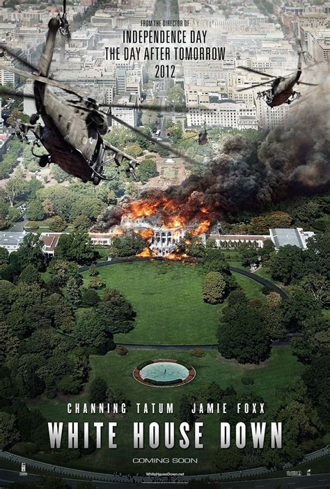 White House Down  Tatum And Foxx Deliver An Action Packed