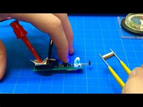 Simple Inexpensive Diy Magnetic Polarity Tester Kevin