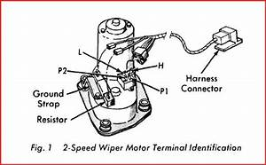 Bench Test Mopar 2 Speed Wiper Motors