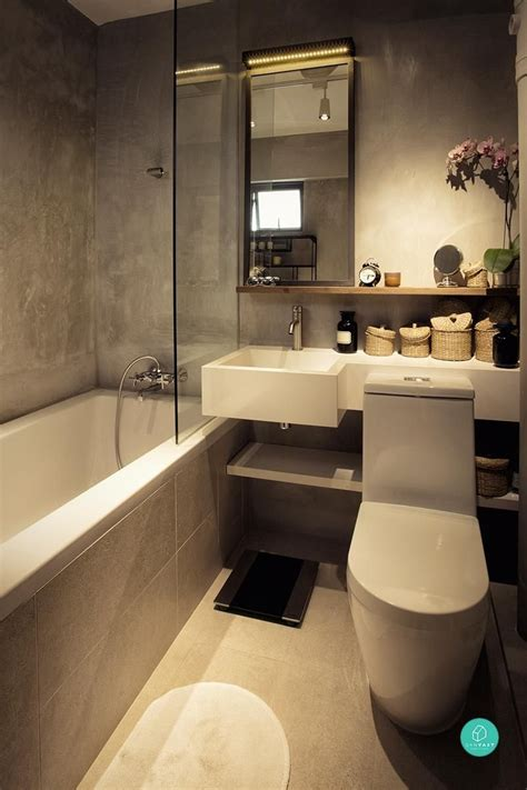 Bathrooms Designs by 9 Hdb Bathroom Transformations For Every Budget Our