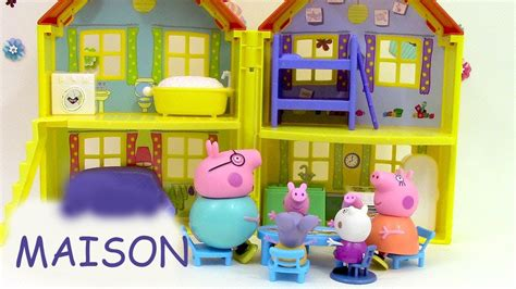la maison de peppa pig maison de peppa pig de luxe p 226 te 224 modeler play doh peppa pig peek n playhouse