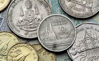 Coins Thailand Thai Baht Currency Buddha Coindesk