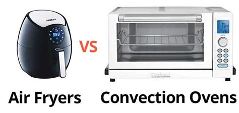 convection air oven ovens vs fryer fryers toaster difference airfryer wire recipes