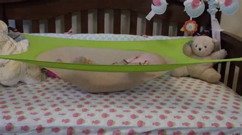 Hammock Baby Bed by Crescent Womb A Newborn Crib Hammock Which Helps Reduce