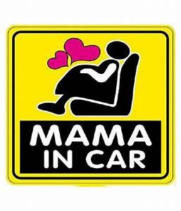 Futaba Baby on Board, Kids In Car Sticker Yellow: Buy