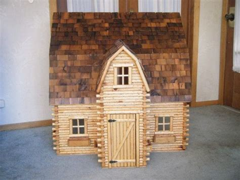 images  miniature log cabins  pinterest folk art dollhouse miniatures