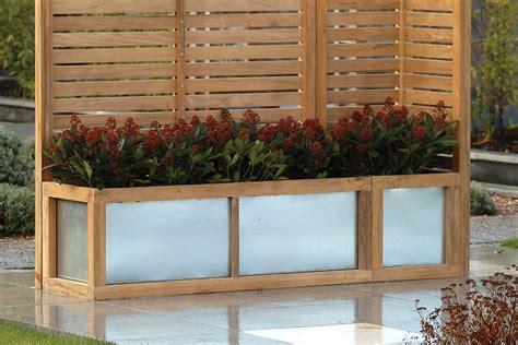hampstead slatted garden screens bau outdoors