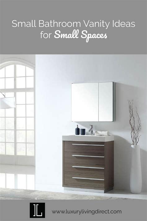small bathroom vanity ideas  small spaces luxury
