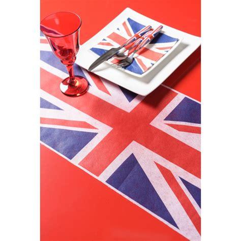 chemin de table drapeau d angleterre maplusbelledeco