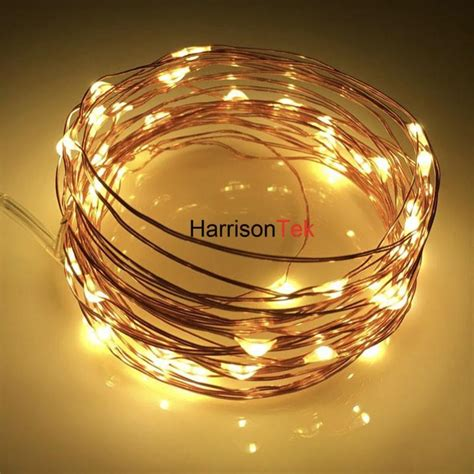 Led Battery Multi Color Ultra Thin Copper Wire