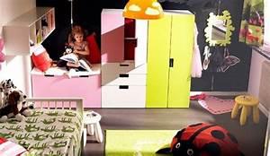 Chambre D Enfant Ikea : zoom sur les rangements de la chambre d enfants ~ Teatrodelosmanantiales.com Idées de Décoration