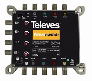 Telefonkabel Als Netzwerkkabel : televes multischalter 5 in 4 guss nevo ms54c online kaufen ~ Watch28wear.com Haus und Dekorationen