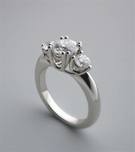 Three Stone Diamond Rings Settings  Wedding, Promise. Lizard Wedding Rings. Element Rings. Stud Rings. 40 Carat Rings. Ps2 Rings. 9mm Engagement Rings. Contemporary Diamond Wedding Rings. Current Wedding Rings
