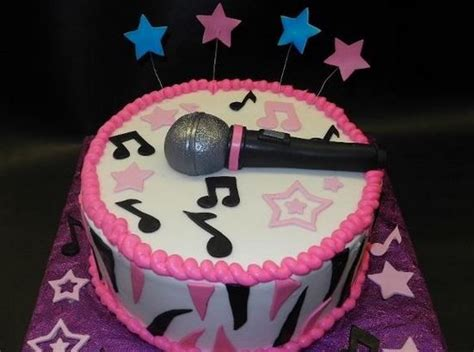 #singer #microphone Birthday Cake From #dianadee's Happy