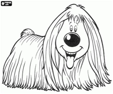 dougal  magic roundabout doogal coloring pages