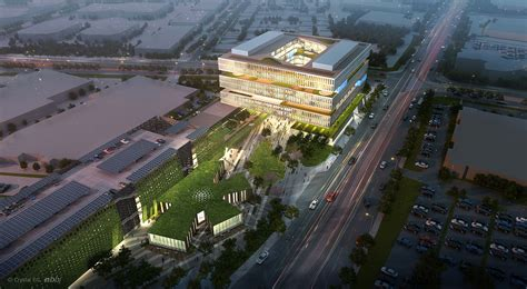siege social d apple nbbj 39 s samsung headquarters addition to silicon valley 39 s