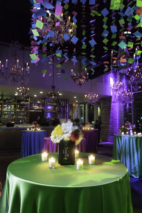 theme party decor ceiling treatment
