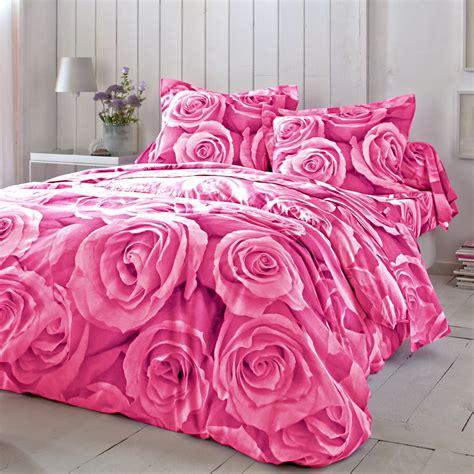 linge de lit bouquet coton blancheporte