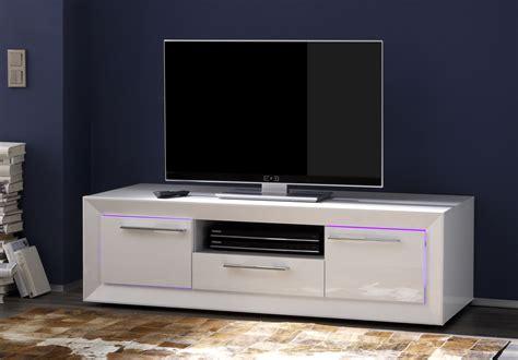 meuble tv hifi design blanc laqu 233 c 233 cilia meuble tv design meuble tv hifi salon