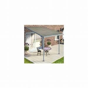 Toit Terrasse Aluminium : toit terrasse polycarbonate et aluminium 3 x 3 m avanc e ~ Edinachiropracticcenter.com Idées de Décoration