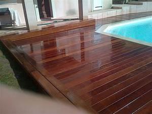 tour de piscine en itauba ensues la redonne parquet et With parquet piscine