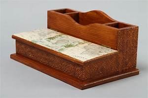 Schreibtisch Design Holz : madeheart handmade schreibtisch accessoires holz dekoration wohnzimmer design b roartikel ~ Eleganceandgraceweddings.com Haus und Dekorationen