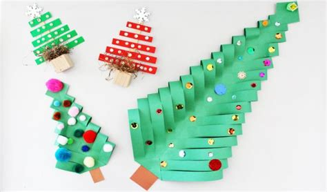 5 Minute Super Cute Christmas Tree Crafts Yummymummyclubca