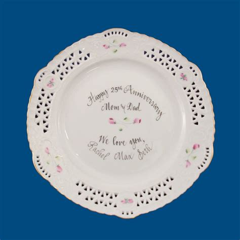 personalized gifts wedding gifts porcelain plate