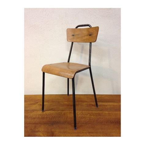 chaise d écolier chaise d 39 écolier vintage le retrocanteur
