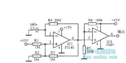 Ultra Low Frequency Multivibrator Oscillator Circuit