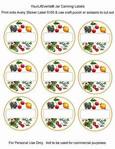 canning labels free printables fruit vege jar canning With jelly jar label template