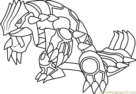 Groudon Kleurplaat by Groudon Coloring Page Free Pok 233 Mon Coloring