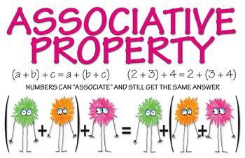 k to 12 grade 4 associative property posters by simply math teachers pay teachers