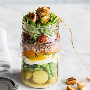 Rest Im Glas : salat nicoise franz sischer thunfischsalat to go ~ Orissabook.com Haus und Dekorationen