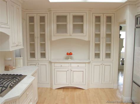 built in kitchen cabinets pictures of kitchens traditional off white antique