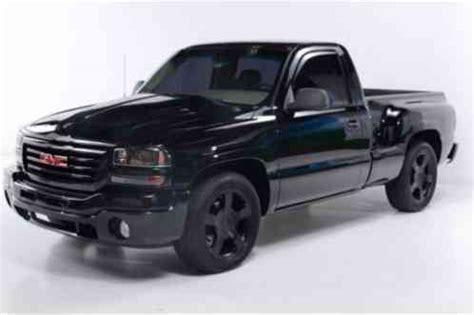 gmc sierra  reg cab   wb  stepside truck