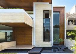 Exterior Design Of House In India by A Sleek Modern Home With Indian Sensibilities And An Interior Courtyard