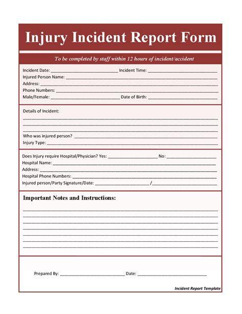 incident report template word best photos of incident report template microsoft word sle incident report template