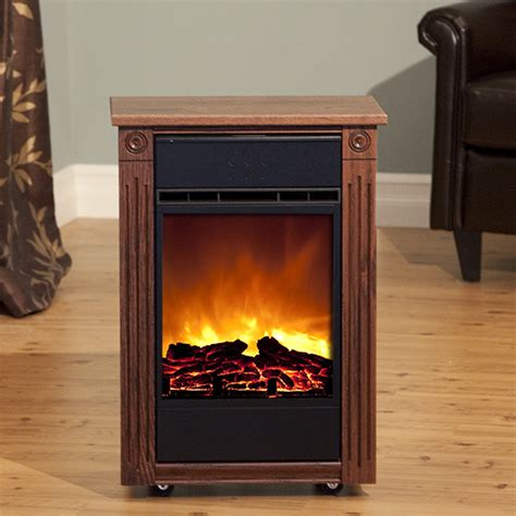 heat surge electric fireplace heat surge accent power tower fireplace amish yard