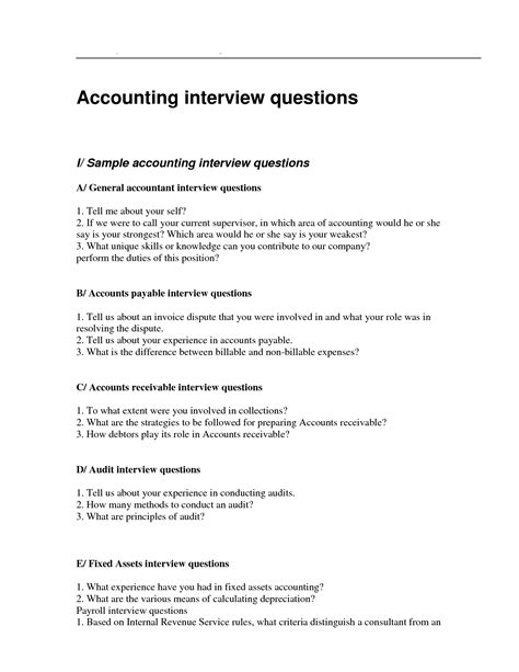 Questions To Ask In An For Accounts Payable Position by Pin By Sle Questionnaire On Employee Questionnaire