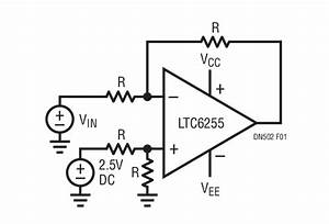 matched resistor networks for precision amplifier With opamp levelshifting
