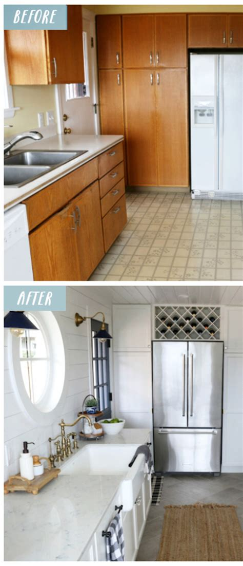 Small Kitchen Remodels Before And After Pictures To Drool