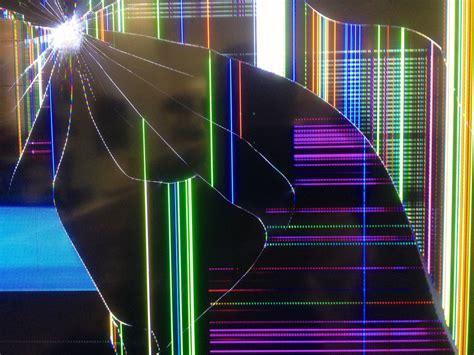 Broken TV Screen Wallpaper - WallpaperSafari