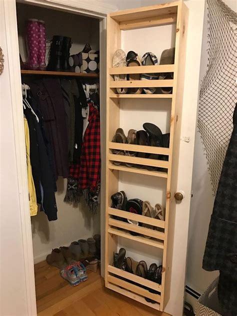 Closet Door Storage by Best 10 Closet Shoe Storage Ideas On Shoe