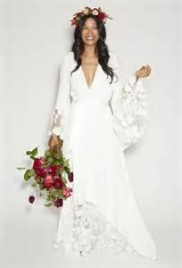 robe mariã e hippie chic vestidos de novia hippies conoce el encanto boho chic fox wedding and sleeve