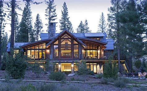 Moderne Häuser Kanada by Take Me To The Country Wooden House Amongst The Trees Is