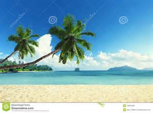 Sunset Tropical Island Beaches