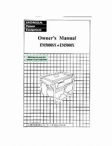 Em5000x Manuals