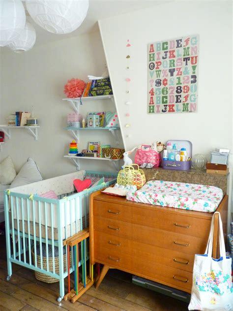 chambre bébé vintage chambre vintage pour bébé grâce à la récup de maman de