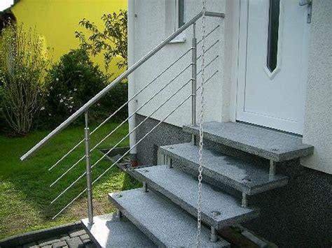 Granit Für Außentreppe by Freitragende Au 223 Entreppe Granit Mit Gel 228 Nder Komplett Ebay